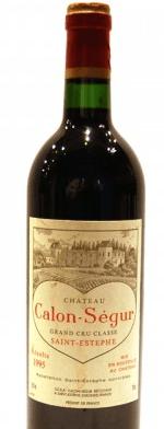 Red wine, Château Calon Ségur 1995