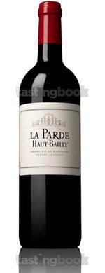 Red wine, La Parde de Haut Bailly 2011
