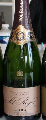 Sparkling wine, Pol Roger vintage rosé 2004