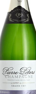 Sparkling wine, L'Esprit vintage 2005