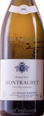 White wine, Montrachet 1992