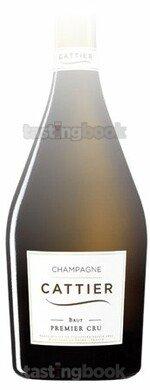 Sparkling wine, Cattier Brut Premier Cru NV (10's)
