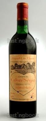 Red wine, Château Calon Ségur 1961