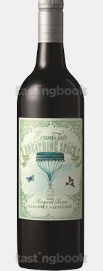 Red wine, Breathing Space Cabernet Sauvignon 2012