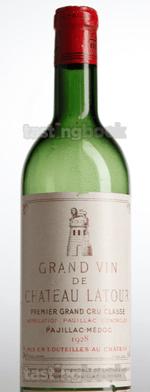 Red wine, Château Latour 1928