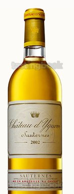 Sweet wine, d'Yquem 2002