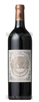 Red wine, Château Pichon-Longueville Baron 2010