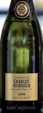 Sparkling wine, Brut Millésimé 2006