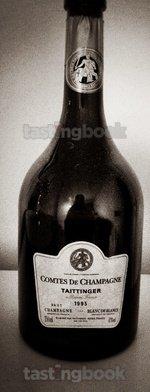 Sparkling wine, Comtes de Champagne 1995