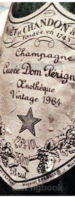 Sparkling wine, Dom Pérignon Oenothèque 1964