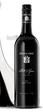 Red wine, Hill of Grace 2010
