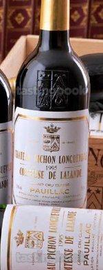Red wine, Château Pichon Longueville Comtesse de Lalande 1995