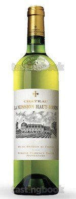 White wine, La Mission Haut Brion Blanc 2011