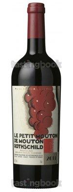 Red wine, Le Petit Mouton 2011