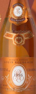 Sparkling wine, Cristal Rosé 1996
