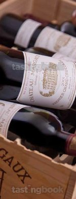 Red wine, Château Margaux 2001