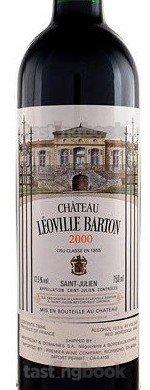Red wine, Chateau Leoville-Barton 2000