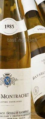 White wine, Batard-Montrachet 1985