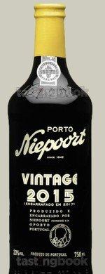 Fortified wine, Niepoort Vintage  2015