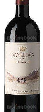 Red wine, Ornellaia 2013