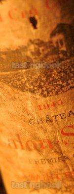 Red wine, Château Calon Ségur 1945