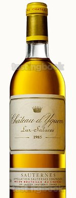 Sweet wine, d'Yquem 1985