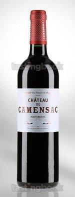 Red wine, Château de Camensac 2016