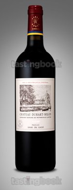 Red wine, Château Duhart-Milon Rothschild 2014