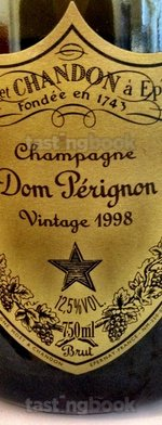Sparkling wine, Dom Pérignon 1998