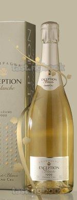 Sparkling wine, Exception Blanche 1999