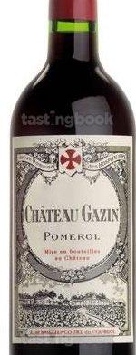 Red wine, Château Gazin 2011