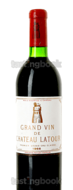 Red wine, Château Latour 1966
