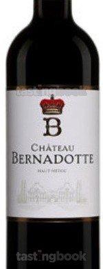 Red wine, Château Bernadotte 2015