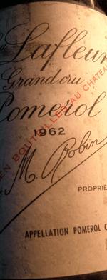 Red wine, Lafleur 1962