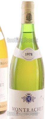 White wine, Montrachet 1978