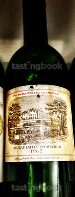 Red wine, Lafite-Rothschild 1962