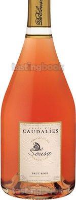 Sparkling wine, Cuvée des Caudalies Rosé NV (10's)