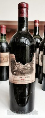 Red wine, Lafite-Rothschild 1934