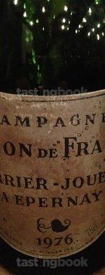 Sparkling wine, Blason de France 1976