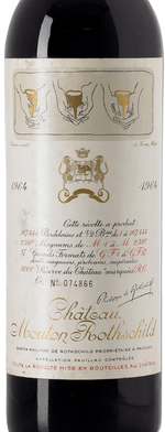 Red wine, Château Mouton-Rothschild 1964