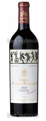 Red wine, Château Mouton-Rothschild 2016