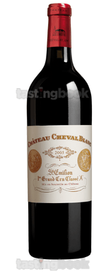 Red wine, Cheval Blanc 2005