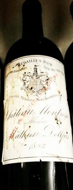 Red wine, Montrose 1883
