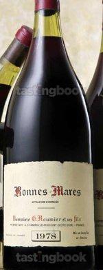 Red wine, Bonnes Mares Grand Cru 1978