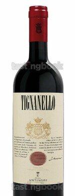 Red wine, Tignanello 2017