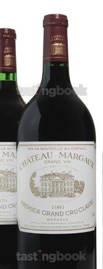 Red wine, Château Margaux 1981