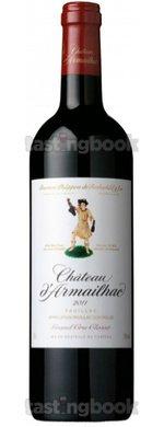 Red wine, Château D´Armailhac 2011
