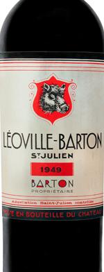 Red wine, Chateau Leoville-Barton 1949