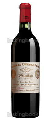 Red wine, Cheval Blanc 1959