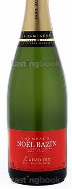 Sparkling wine, L'unanime Blanc de Blancs Brut NV (10's)